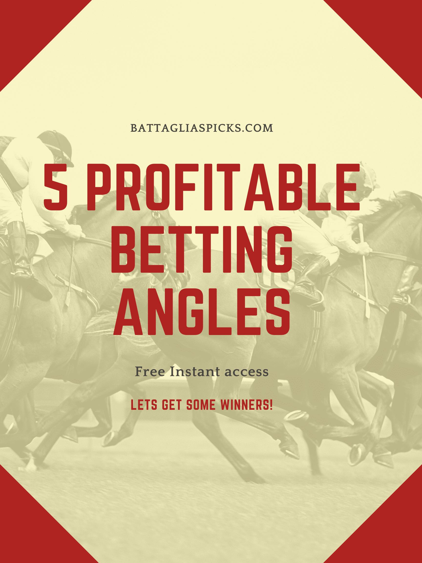 Profitable Betting Angle